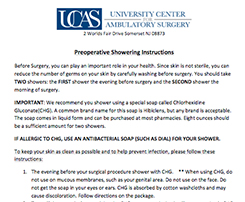 Preoperative-Showering-Instructions